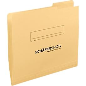 SCHÄFER SHOP Einschiebmappe, DIN A4, Karton, Tab rechts