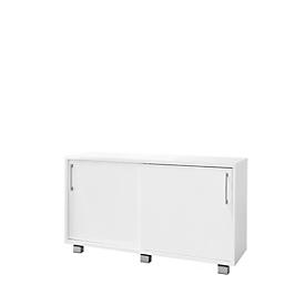 Schäfer Shop Genius Aparador SINCERO LINE con cajones y puertas, An 1200mm x P 500mm x Al 720mm, blanco