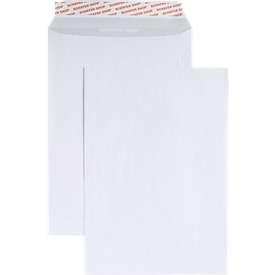 Schäfer Shop Genius Bolsas de correo blancas C4, 90 g/m², 250 unidades
