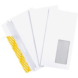 Schäfer Shop Genius Briefumschläge, DIN lang, mit Haftklebung, mit Fenster, 1000 Stück