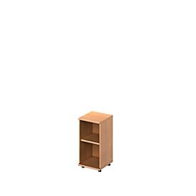 Schäfer Shop Genius Estantería TETRIS WOOD, 2 AA, altura incl. deslizador, An 400mm, acabado en haya