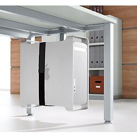 Schäfer Shop Genius Soporte para CPU, para montar en el marco de la mesa, para encajar el sistema de mesa MODENA FLEX