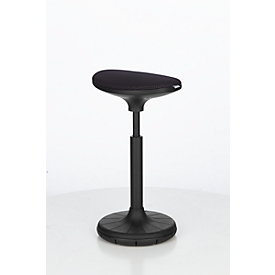 Schäfer Shop Genius Steh-/Sitzhilfe SSI PROLINE P 3-D, ergonomisch, patentierte Sohle, schwarz/schwarz