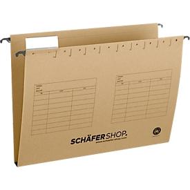 SCHÄFER SHOP Hängesammler, Öffnung seitlich, für Formate bis DIN A4, 20 mm Breit