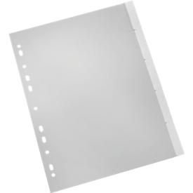 SCHÄFER SHOP PP-indexbladen met verwisselbare tabs, gebruik naar eigen inzicht, cijfers 1-5, losbladig