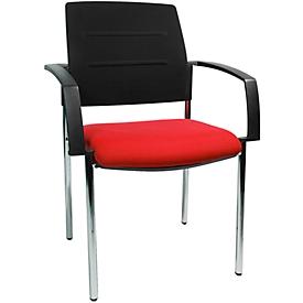 Schäfer Shop Pure Bezoekersstoel SSI PROLINE Visit S1, rood