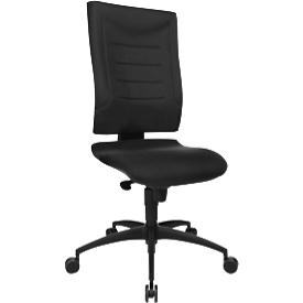 Schäfer Shop  Pure Bureaustoel SSI Proline P1, synchroonmechanisme, zonder armleuningen, lordosesteun & knierol, zwart