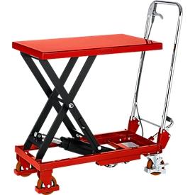 Schäfer Shop Pure Carro elevador de tijera , capacidad de carga 150kg