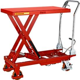 Schäfer Shop Pure Carro elevador de tijera , capacidad de carga 300kg