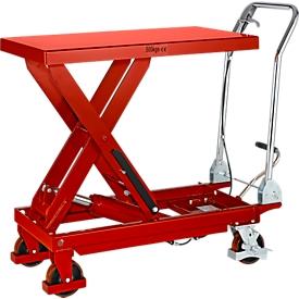 Schäfer Shop Pure Carro elevador de tijera , capacidad de carga 500kg