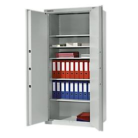 Schäfer Shop Select Armario de acero TS 3, 4 estantes, sin compartimento interior