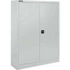 Schäfer Shop Select Armario para materiales  MSI 16409, An 950 x P 400 x Al 1535mm, 3 estantes, acero, gris luminoso RAL 7035