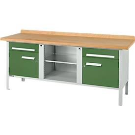 Schäfer Shop Select Banco de trabajo PW 200-0, verde