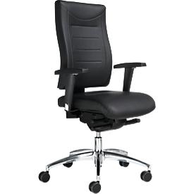 Schäfer Shop  Select Bureaustoel SSI PROLINE P3 DELUXE, synchroonmechanisme, zonder armleuningen, gestoffeerde comfortzitting, zonder hoofdsteun