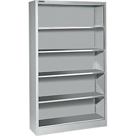Schäfer Shop Select Estantería AS 2409, con 4 estantes, aluminio blanco RAL 9006