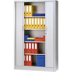 Schäfer Shop Select Estantes de acero, gris luminoso, anchura 1200mm, 2 unidades