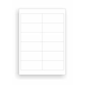 Schäfer Shop Select Etiquetas universales, 97,0 x 42,3 mm, Pegamento permanente, 1200 unidades