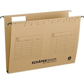 Schäfer Shop Select Hängesammler, Öffnung seitlich, für Formate bis DIN A4, 30 mm Breit