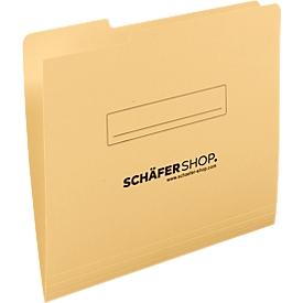 Schäfer Shop  Select inlegmap, A4, karton, tab links