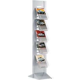 Schäfer Shop Select Komplett-Angebot Prospektsäule inkl. 5 Prospektetagen 5 x DIN A4
