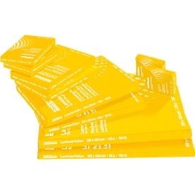 Schäfer Shop Select Láminas de plastificación , 303x426 mm aptas para DIN A3, 80 mic., 5 + 1 GRATIS