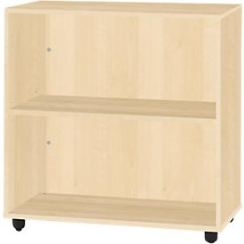 Schäfer Shop  Select LOGIN boekenkast, 2 OH, B 800 x D 420 x H 744 mm, ahorndecor/ahorndecor