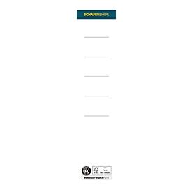 Schäfer Shop Select Rückenschild, Rückenbreite 50 mm, selbstklebend, 10 Stück