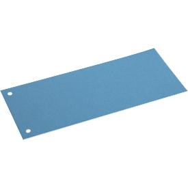 Schäfer Shop  Select scheidingsstroken, karton, 100 stuks, blauw