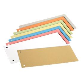 Schäfer Shop  Select scheidingsstroken, karton, gesorteerd op kleur, 200 stuks