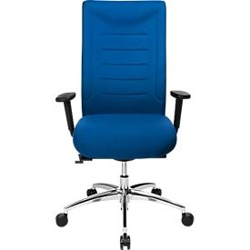 Schäfer Shop Select Silla de oficina SSI Proline XXL, mecanismo sincronizado, con reposabrazos, hasta 150 kg, azul