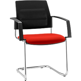 Schäfer Shop Select Sledestoel SSI Proline Visit S2, rood/zwart