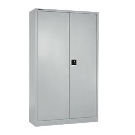Schäfer Shop Select Taquilla MS iCONOMY, acero, tabique central, An 950 x P 400 x Al 1935mm, aluminio plateado RAL 9006