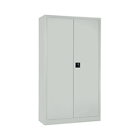 Schäfer Shop Select Taquilla MS iCONOMY, acero, tabique central, An 950 x P 400 x Al 1935mm, gris luminoso RAL 7035