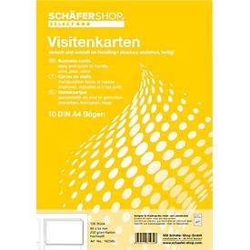 Schäfer Shop  Select Visitekaartjes, 10 vellen/100 stuks 250g SSI