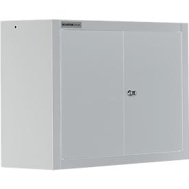 Schäfer Shop  Select Wandkast MS 750 met vleugeldeuren, B 750 x D 320 x H 600 mm, lichtgrijs