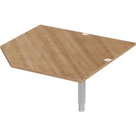 Schäfer Shop Select Winkelplatte PLANOVA ERGOSTYLE, CAD, B 1200, Kirsche Romana