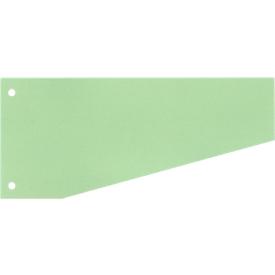 SCHÄFER SHOP Trapeztrennstreifen, Karton, 100 Stück, grün