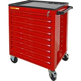Schäfer Shop Werkstattwagen mit 9 Schubladen