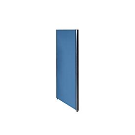Schallschutzwand System Alu Klett, 1600 x 1250 mm, nach DIN EN ISO 354, kombinierbar, dunkelblau/anthrazitgrau RAL 7016