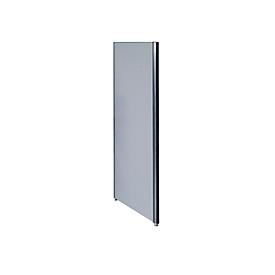 Schallschutzwand System Alu Klett, 1800 x 1250 mm, nach DIN EN ISO 354, kombinierbar, hellgrau/anthrazitgrau RAL 7016