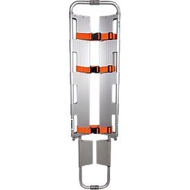 Schaufeltrage, nach DIN EN 1865, stufenweise längenverstellbar, bis 170 kg