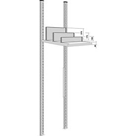 Scheidingswand, vrijstaand, voor archiefrekdiepte 600 mm, H 100 mm