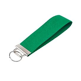 Schlüsselanhänger, Grün, Standard, Auswahl Werbeanbringung optional