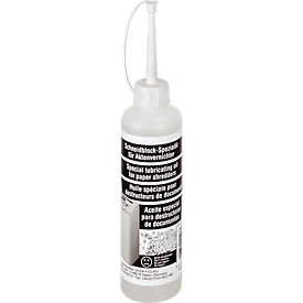 Schneidblock-Spezialöl für Aktenvernichter (Partikelschnitt)
