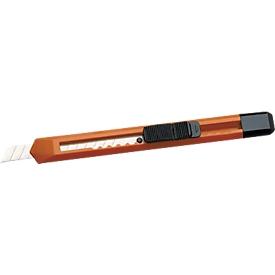 Schneidemesser, mit 13 Klingenabschnitten, orange