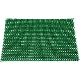 Schoonloopmat Step In, van polyetheen, voor binnen en buiten, 570 x 860 mm, groen