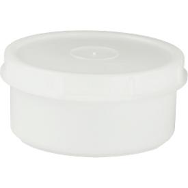 Schraubdose, rund, 250 ml, ø 104 x H 50 mm