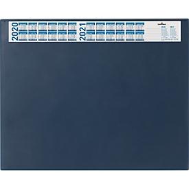 Schreibunterlage mit Kalender, blau