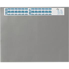 Schreibunterlage mit Kalender, grau