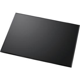 Schrijfonderlegger Linear, zwart
